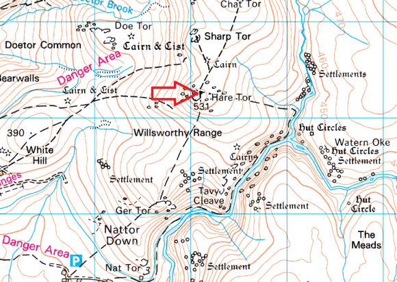 hare-tor-map