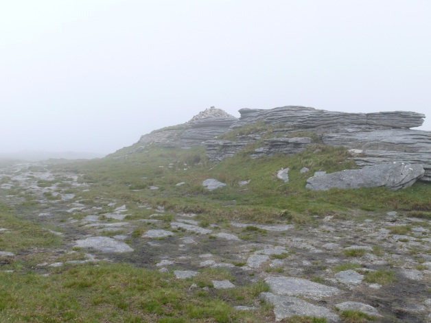 Misty High Willhays summit