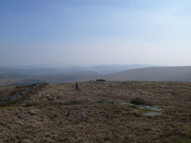 Looking to the East Dart Valley from Winney's Down
