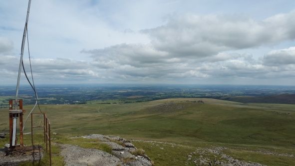 Looking northeast over West Mill Tor from Yes Tor
