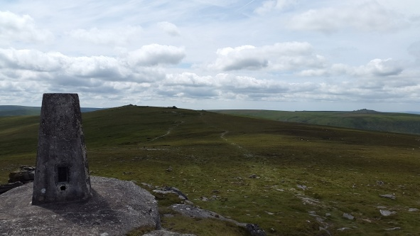 High Willhays from Yes Tor trig