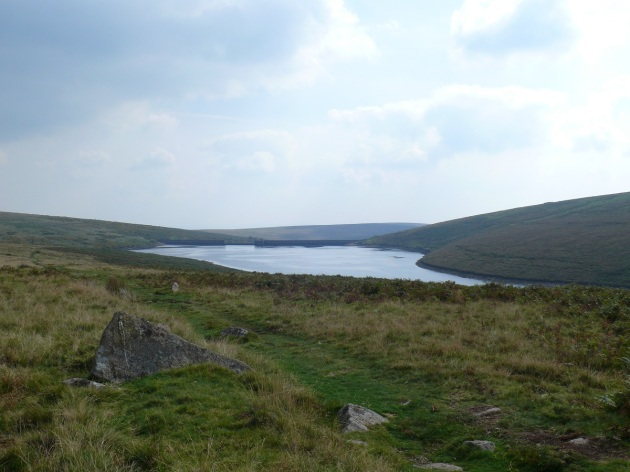 Avon Reservoir with the Dam at the far end