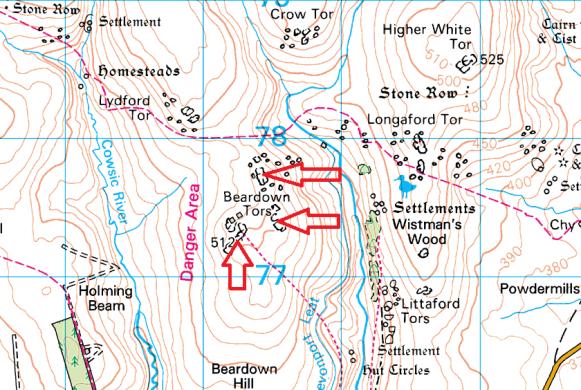 beardown-tor-map