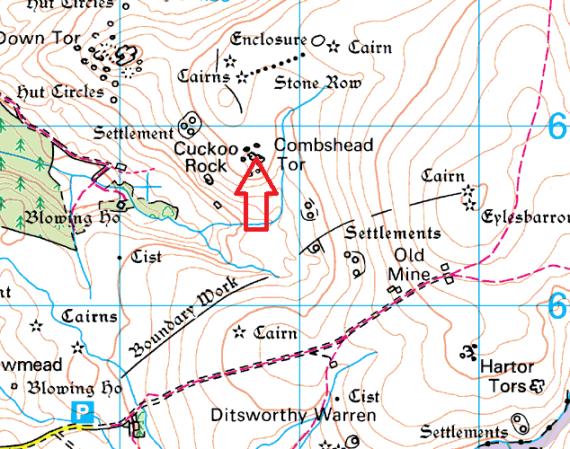 combeshead-tor-map