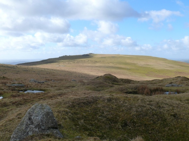 Cox Tor taken from the path to Roos Tor