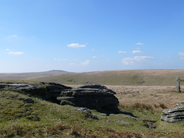 Devils Tor with Great Mis Tor behind