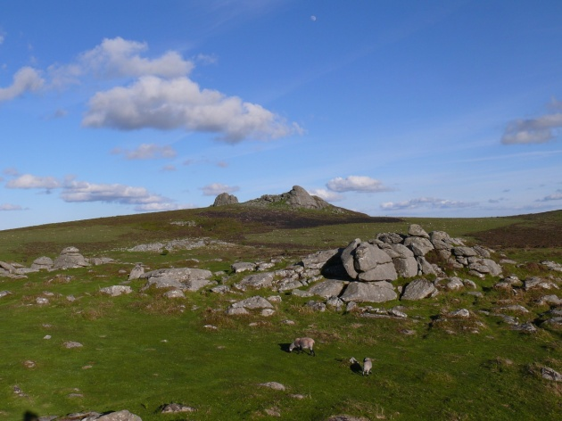 Haytor from Holwell Tor