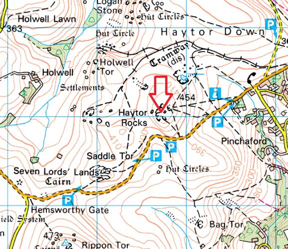 haytor-map