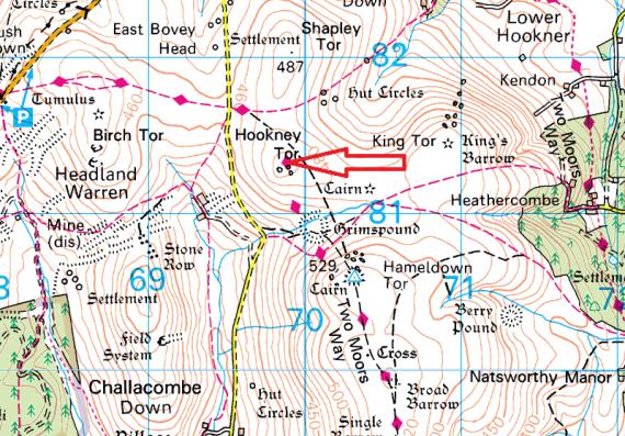 hookney-tor-map
