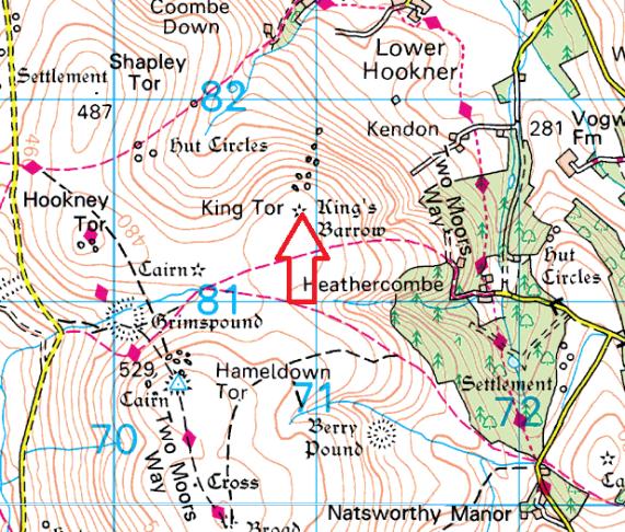 king-tor-map