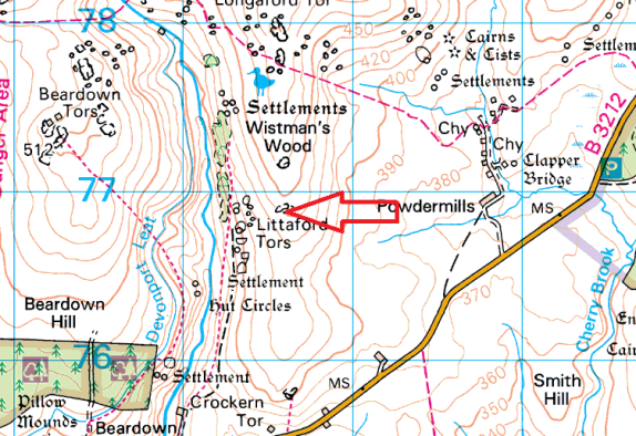littaford-tor-map