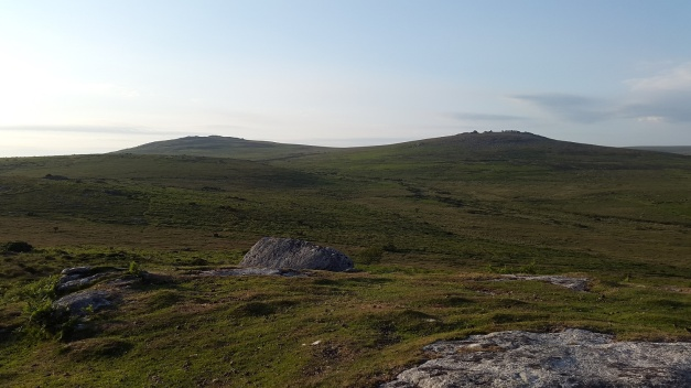 Cox Tor and the Staple Tors