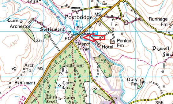 postbridge-clapper-map