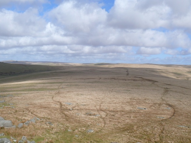 Wilderness behind Roos Tor
