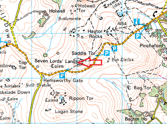 saddle-tor-map