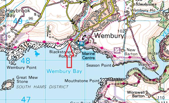 wembury-map