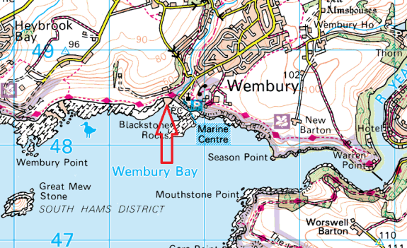 wembury-map