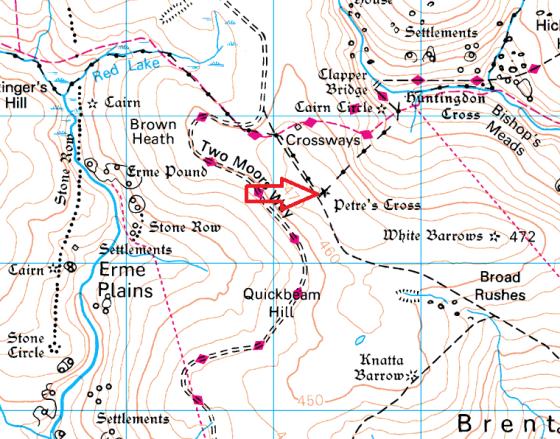 western-white-barrow-map