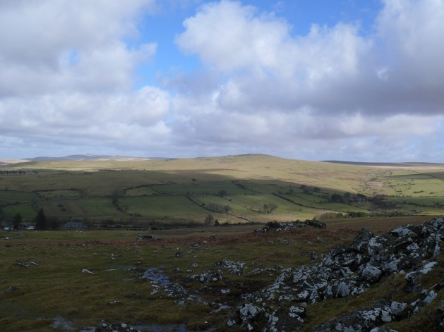 White Tor from Cox Tor