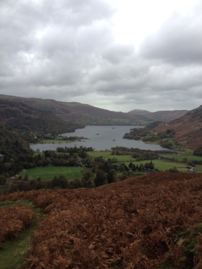 Lovely views back to Ullswater