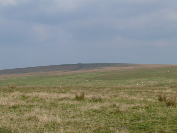 The submarine like Eastern White Barrow in the distance