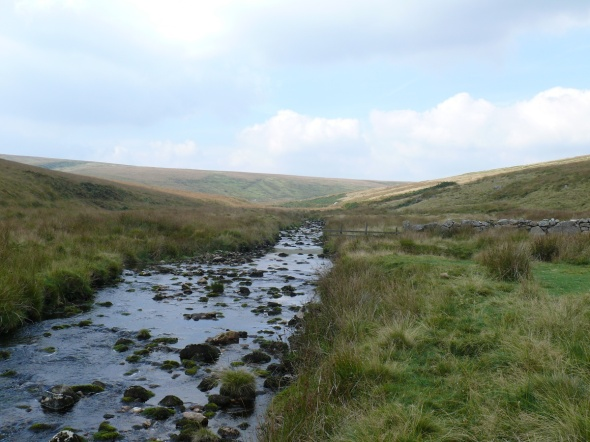 We should have crossed the ford here as part of the Abbot's Way. I can only assume they got their feet wet normally!!