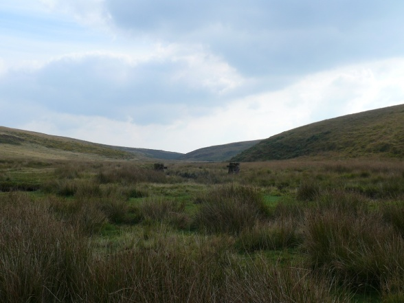 Looking back in the direction of Avon Reservoir