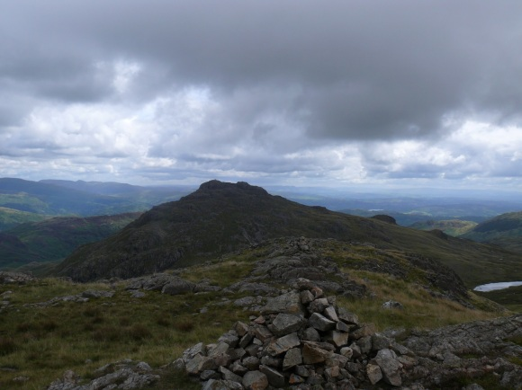 Great Knott summit looking to Pike O'Blisco