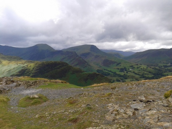 Hindscarth left and Robinson right from Catbells