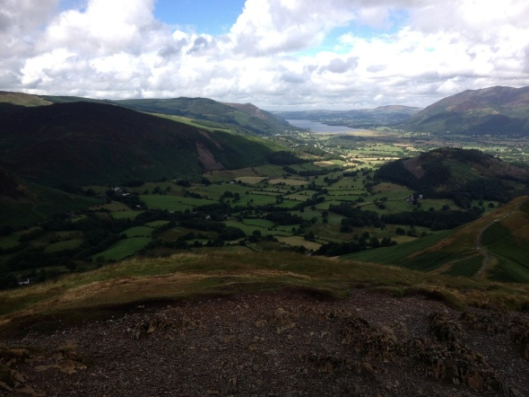 Lake Bassenthwaite from the summit