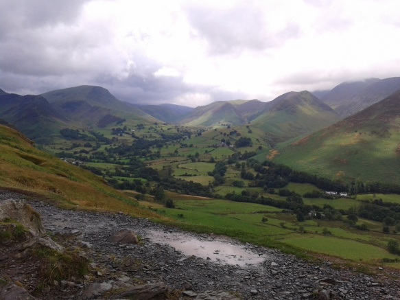 Fantastic view into Newlands Valley
