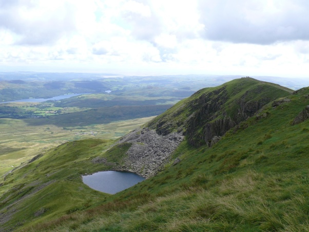 Blind Tarn with Brown Pike above
