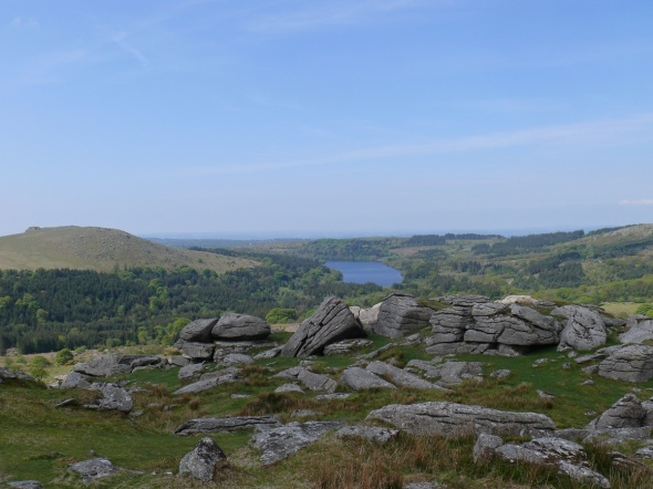 Burrator from Down Tor