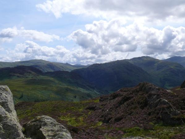 Grange Fell summit looking