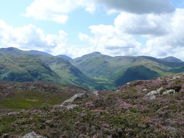 That view again with Great Gable centre of the photo