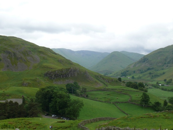 Martindale Church down on the left and Martindale itself all the way to The Nab.