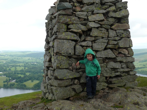 Made it! Second Wainwright for the boys.
