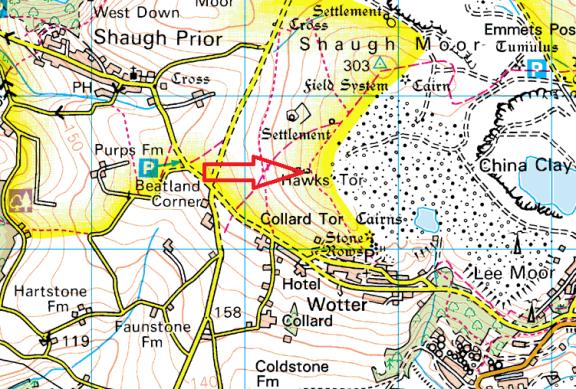 hawks-tor-map