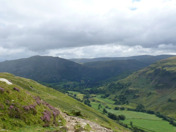 Place Fell at end of Grisedale from the path back down to Keldas.