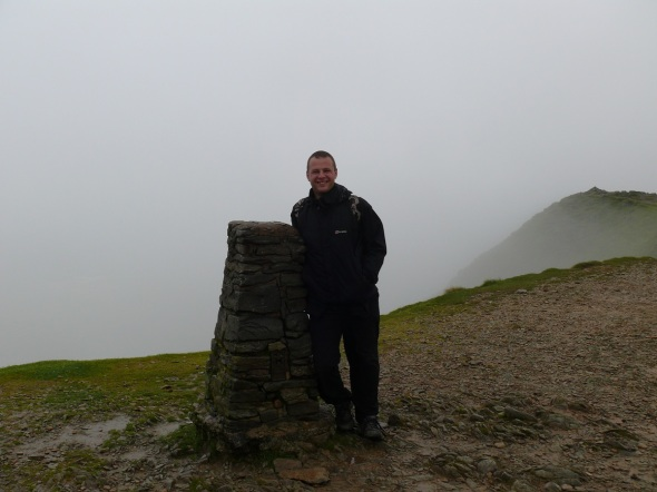 Yours truly on the summit of Helvellyn