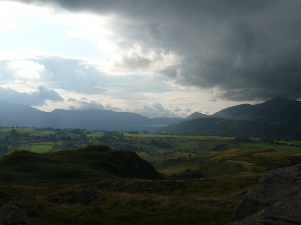 Drama in the skies over the Vale of Keswick