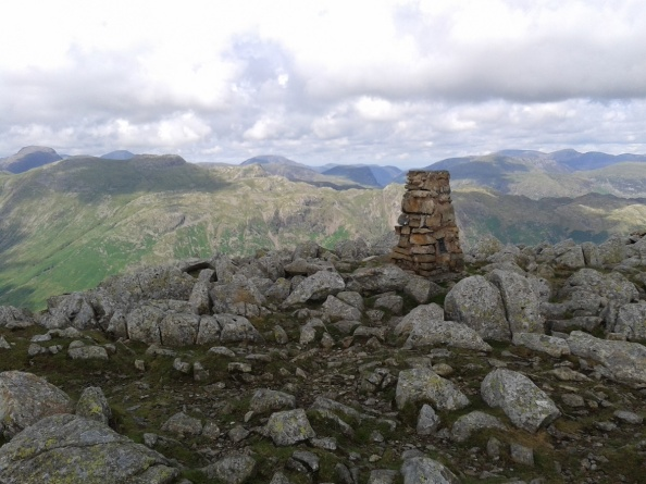 High Raise summit trig