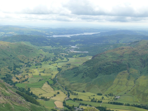 Great Langdale all the way to Windermere