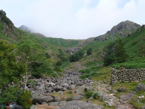 Heading up Stickle Ghyll