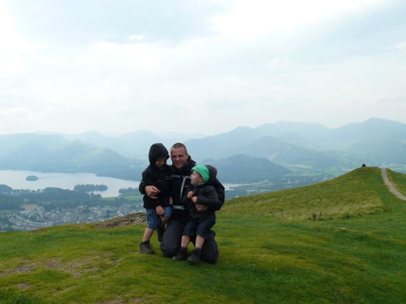 Me and the boys on Latrigg