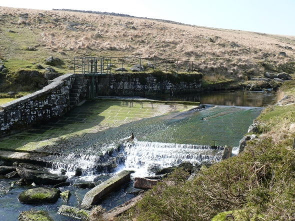 The West Dart Weir