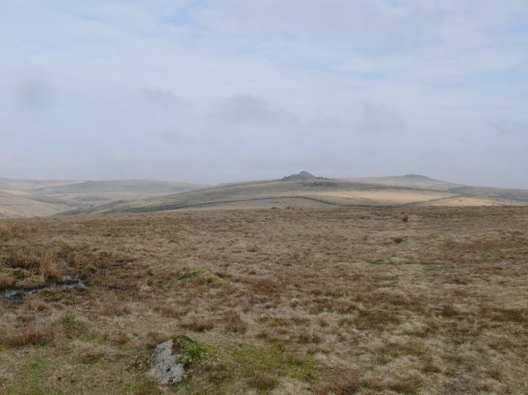 Heading for Longaford Tor