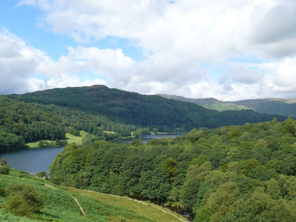 Looking from Loughrigg Terrace across to Silver How