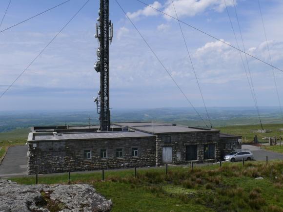 The FM tv and radio transmitting station