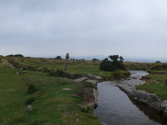 The brilliantly named Grimstone and Sortridge leat and Windy Cross